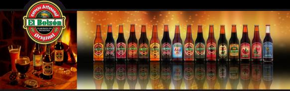 Cerveceria El Bolson cerveza
